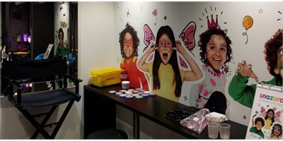 Snazaroo Face Painting Studio Careers.... What Do You Think You Could Do?